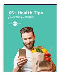 Healthy Tips for Newsletter